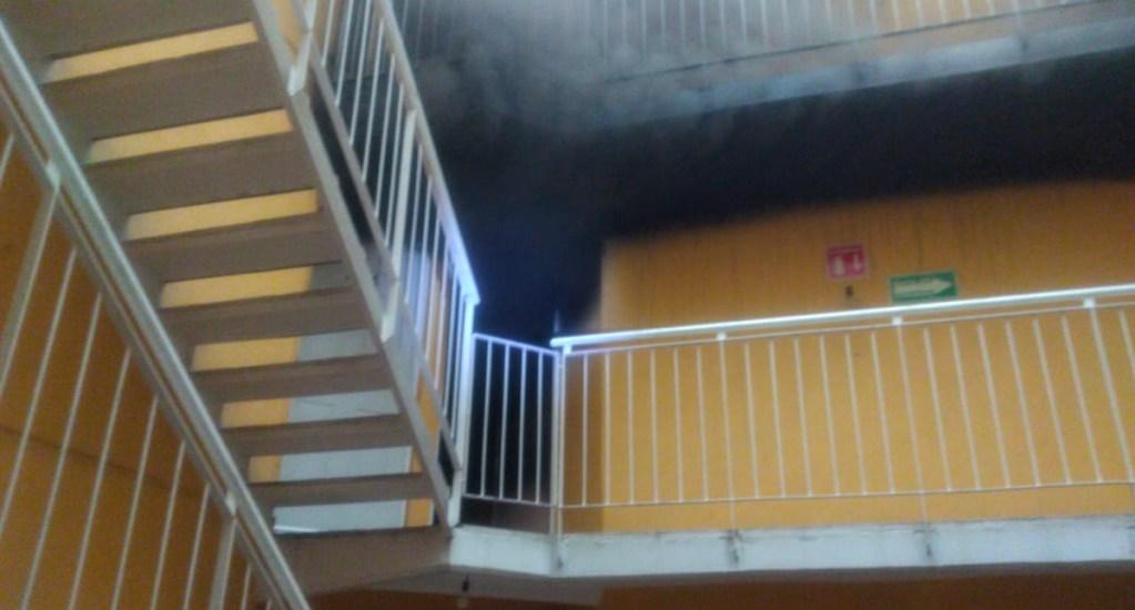 Incendio en edificio de departamentos en la GAM - Incendio departamento GAM