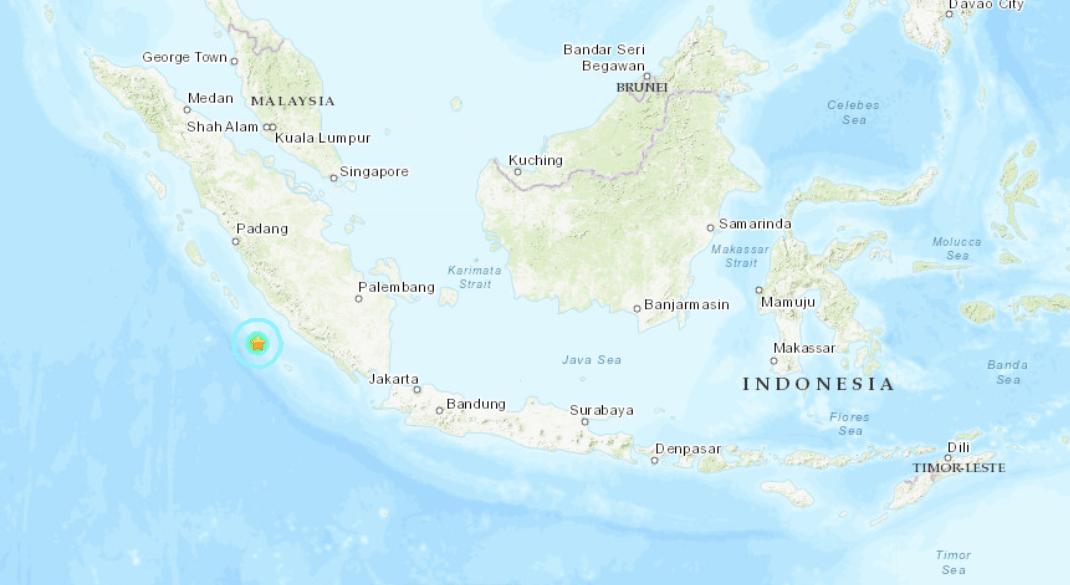 Indonesia sismo 5.9