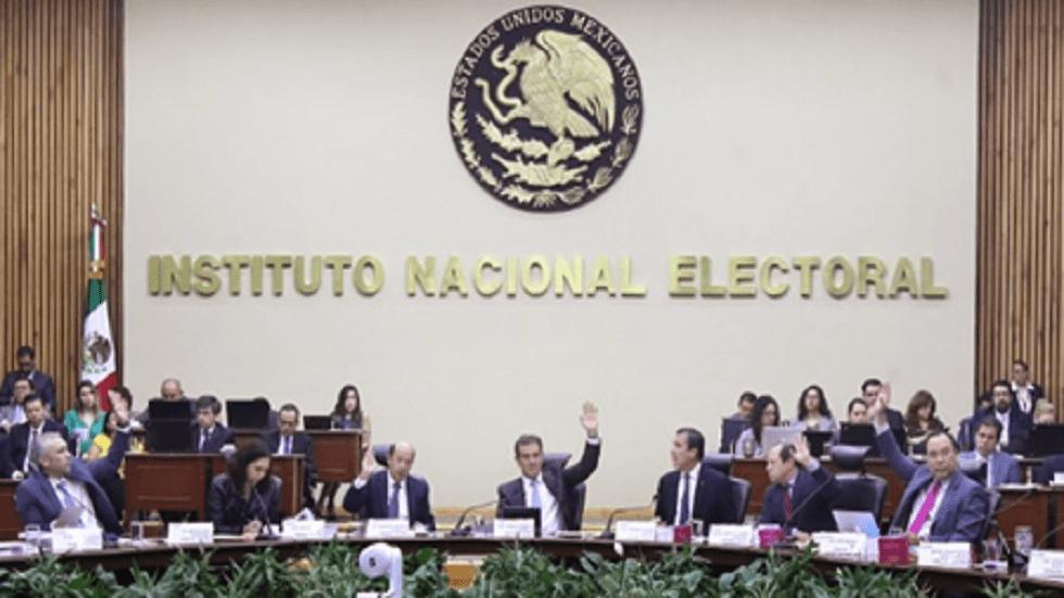 INE presenta recurso ante el TEPJF contra ampliación de mandato en BC - Pleno del INE. Foto de @INEMexico