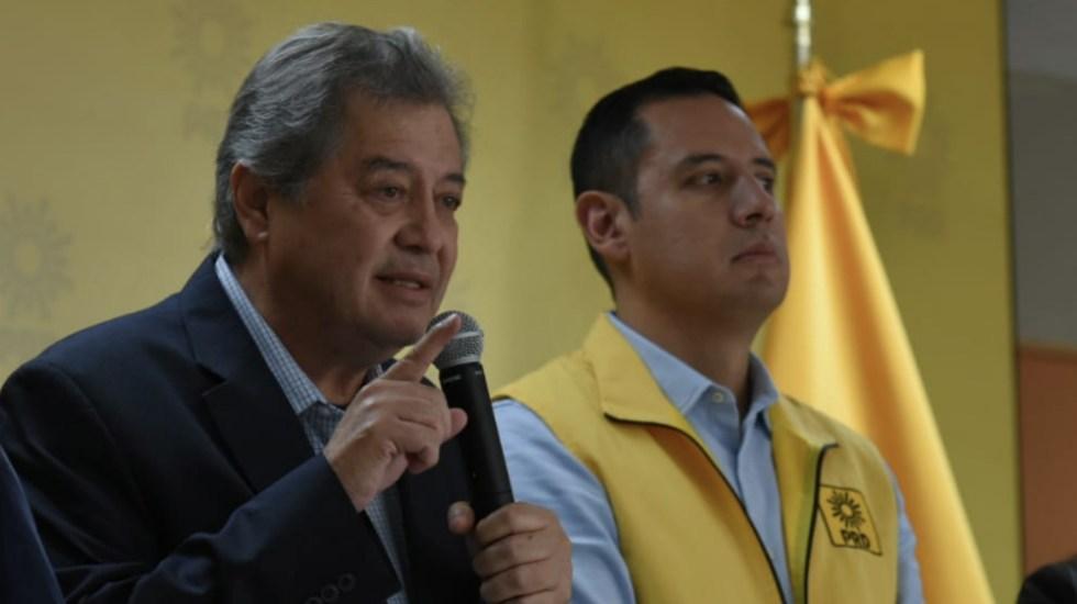 Acusan condicionamiento de votos a favor de la Ley Bonilla - Foto de @PRDMexico