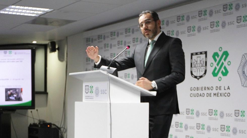 Emite Interpol ficha roja contra Jesús Orta, exsecretario de Seguridad capitalino - Jesús Orta. Foto de Notimex-Guillermo Granados.