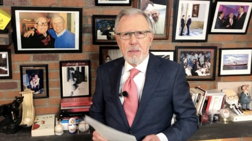 ¡Las noticias! Sánchez Cordero revela que compartió con Zaldívar presión del gobierno