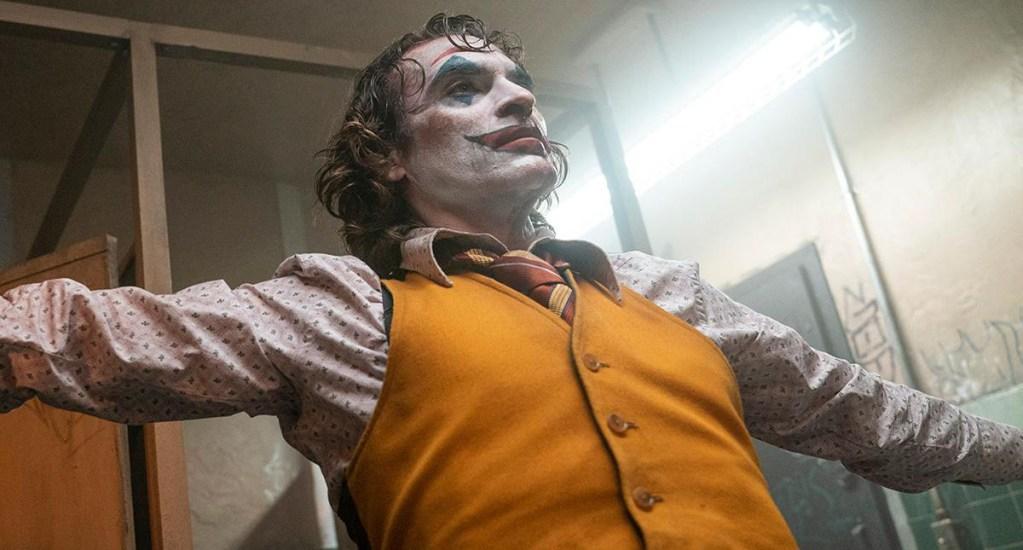 'Joker' mantiene liderato de la taquilla estadounidense - Joaquin Phoenix como Joker. Foto de @jokermovie