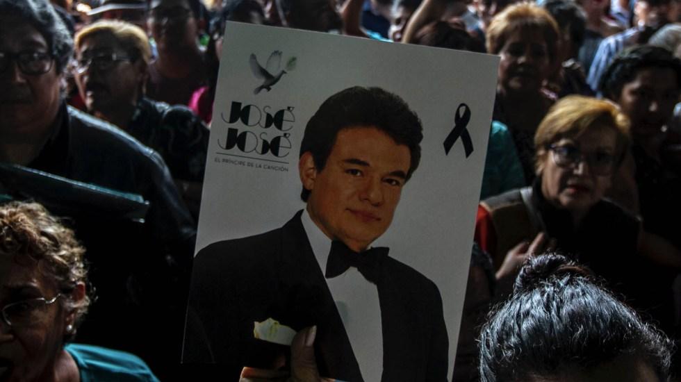 Miles de mexicanos dieron el último adiós al legendario José José - José José despedida México