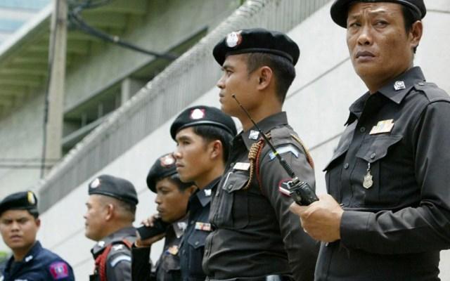 Juez tailandés se dispara en el pecho en un tribunal - Policía tailandesa