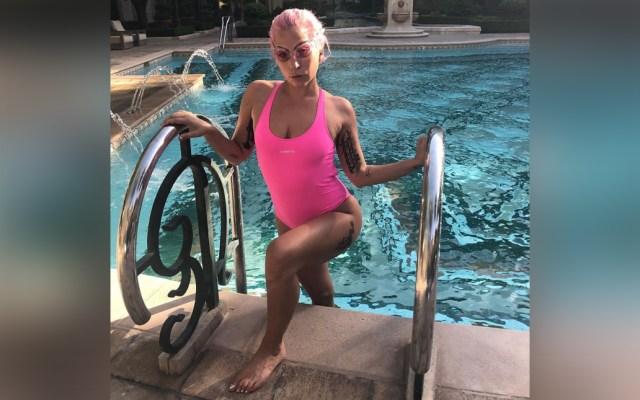 Lady Gaga asiste a despedida de soltera tras caerse del escenario en Las Vegas - Lady Gaga