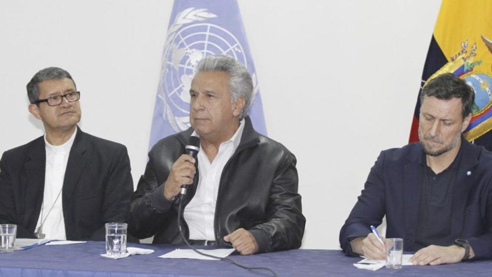 Presidente de Ecuador derogará decreto que eliminaba subsidios a combustibles - Lenín Moreno