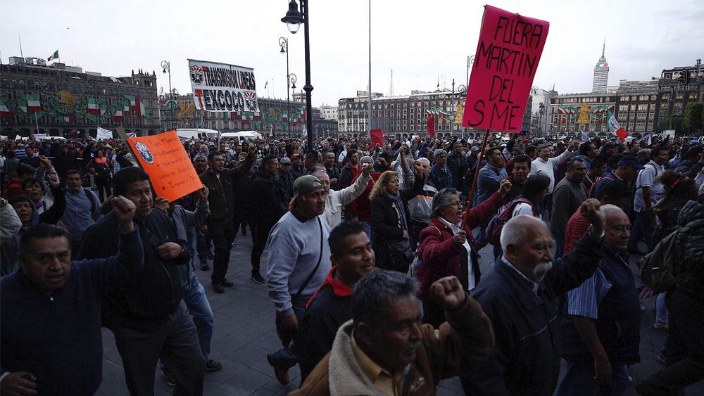 Al menos siete movilizaciones este lunes en la Ciudad de México - manifestaciones movilizaciones