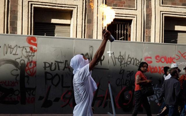 Actos vandálicos en la marcha por el 2 de octubre; falló la estrategia del gobierno capitalino - Marcha 2 de octubre 2019 12