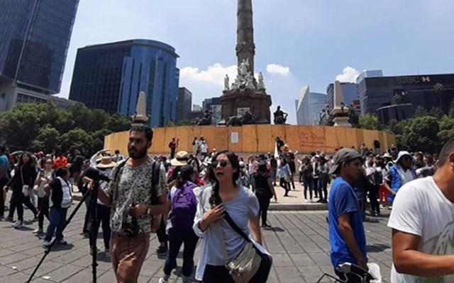 Este domingo habrá seis movilizaciones sociales en la Ciudad de México - Marcha desde el Ángel de la Independencia. Foto de Zócalo