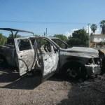 """""""Me estoy muriendo"""", el audio de los policías de Michoacán tras emboscada"""