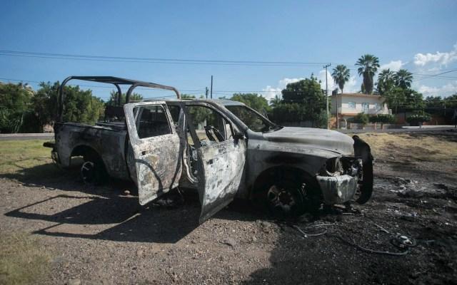 """""""Me estoy muriendo"""", el audio de los policías de Michoacán tras emboscada - Michoacán Policía estatal operativo Aguililla 2"""