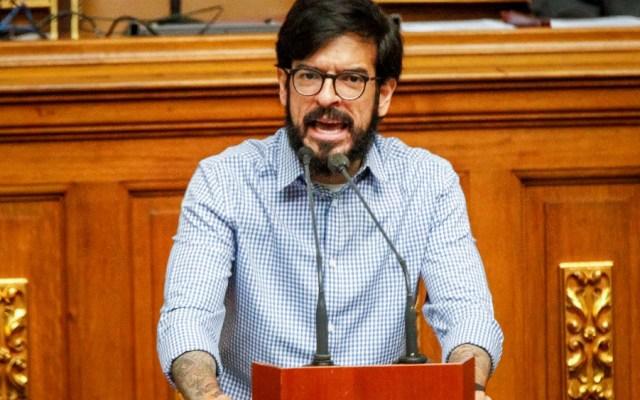 """Oposición de Venezuela pide a ONU que investigue """"detenciones arbitrarias"""" - El representante del líder opositor venezolano Juan Guaidó ante Naciones Unidas, Miguel Pizarro. Foto de EFE"""