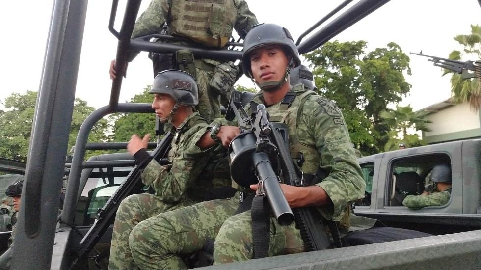 Reunión de Barr con AMLO daría lugar a una mayor intervención de EE.UU. en México, advierte analista de WP - Militares México fuerzas Sinaloa Sedena soldados