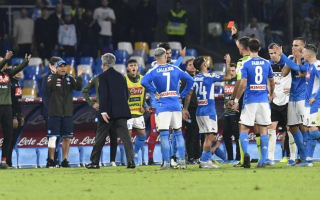 'Chucky' Lozano y Napoli empatan en casa ante Atalanta - Napoli