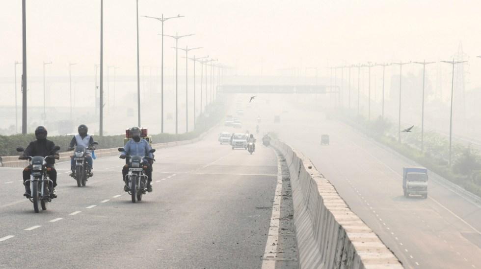Contaminación en India alcanza niveles severos tras festival Diwali - Foto de EFE