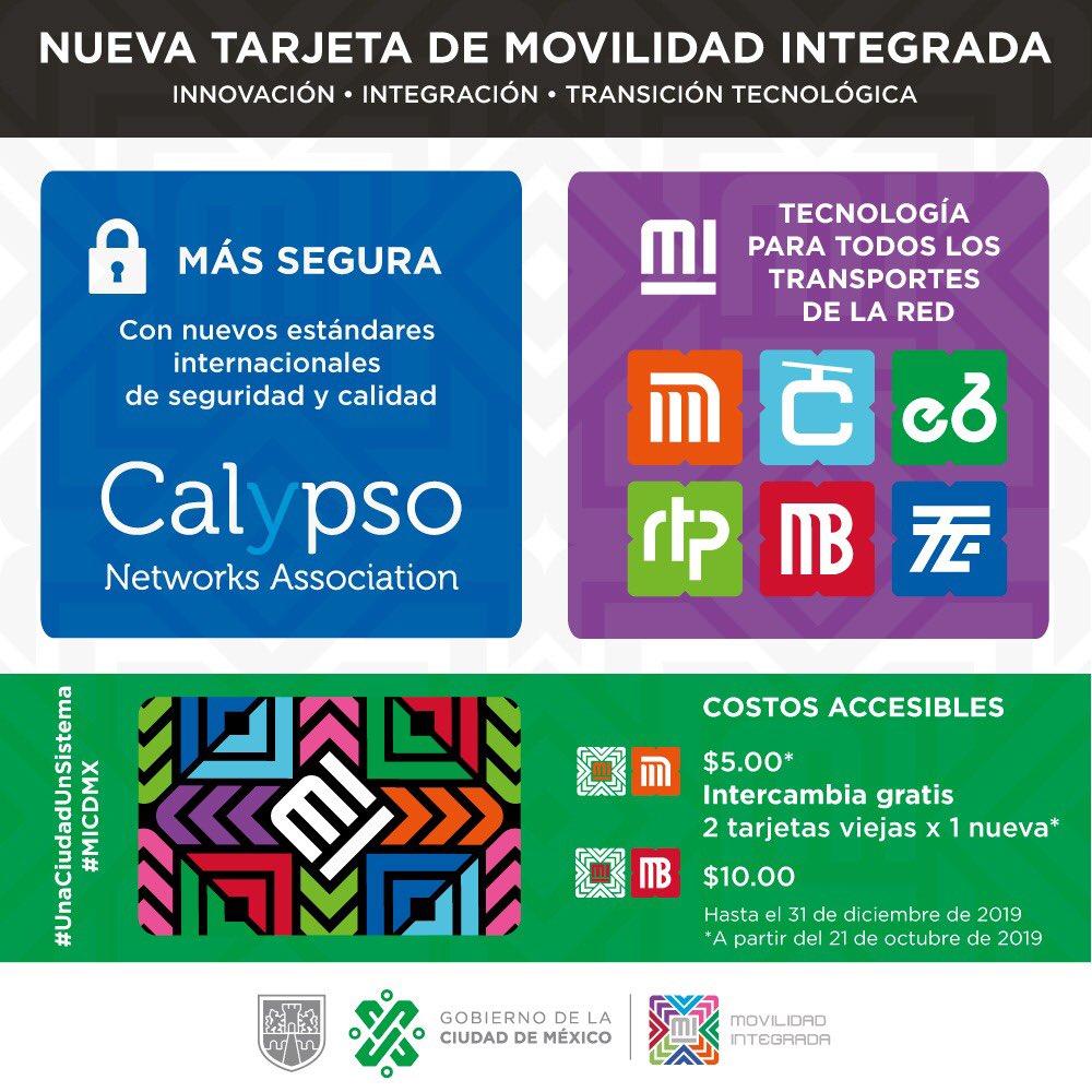 Nueva tarjeta de movilidad integrada. Foto de Semovi
