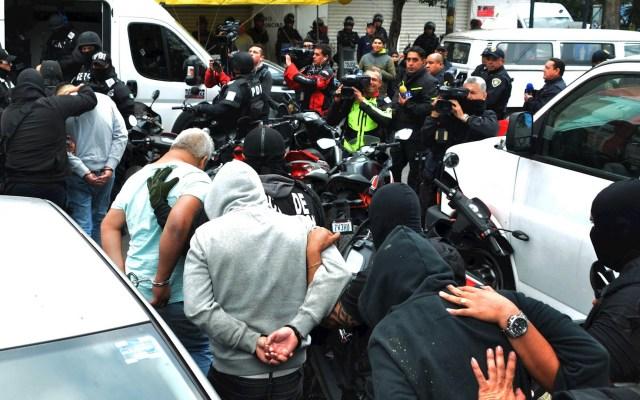 Juez Delgadillo Padierna deja en libertad a tres de los cinco detenidos por operativo en Tepito - Operativo Tepito drogas mariguana 3