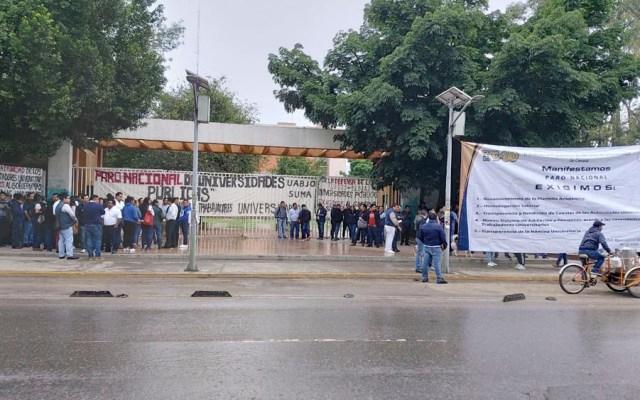 Universidades se van a huelga en demanda de mayor presupuesto - paro universidades