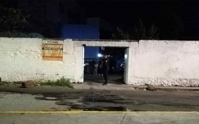Roban seis vehículos de pensión en la alcaldía Tlalpan - Pensión de donde se robaron seis vehículos, en Tlalpan. Foto de Excélsior
