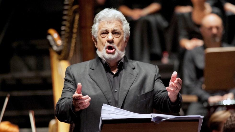 """Cancelan concierto de Plácido Domingo en la Zarzuela """"en solidaridad con mujeres"""" - plácido domingo"""