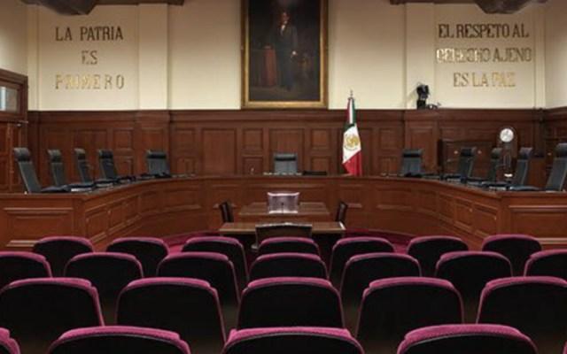 Comparecieron en Comisiones del Senado aspirantes a nueva ministra de la Suprema Corte - Pleno de la Suprema Corte de Justicia de la Nación. Foto de SCJN