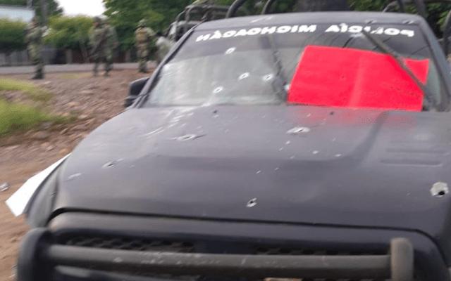 Policías emboscados iban a cumplir con mandato judicial de carácter familiar: SSP Michoacán - michoacán