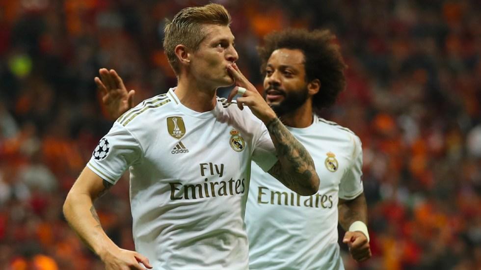 Real Madrid vence por la mínima al Galatasaray en la Champions - Real Madrid venció alGalatasaray con un tanto de Toni Kroos