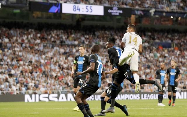 Real Madrid rescata empate ante el Brujas - real madrid empate brujas