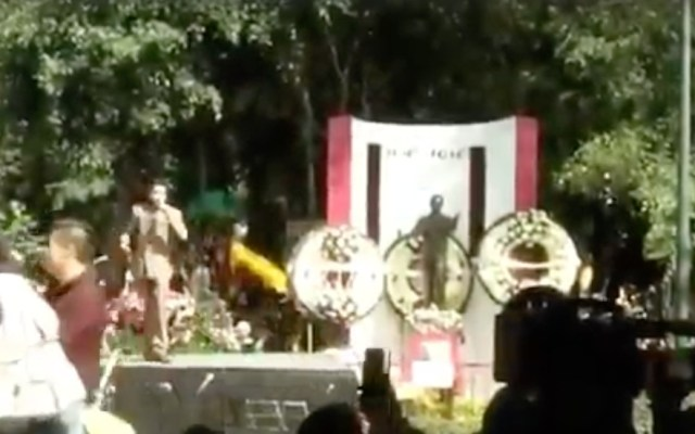 Realizan homenaje a José José en el Parque de la China - Captura de pantalla