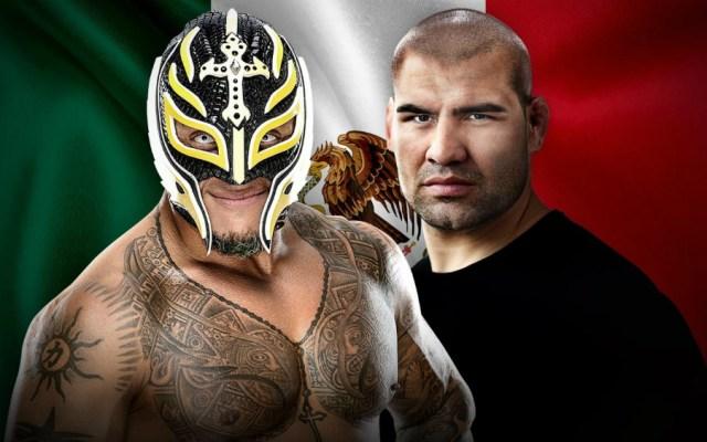 Caín Velásquez y Rey Mysterio harán pareja en la Ciudad de México - Foto de WWE