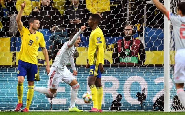 España empata en Suecia y califica a la Euro 2020 - Foto de EFE