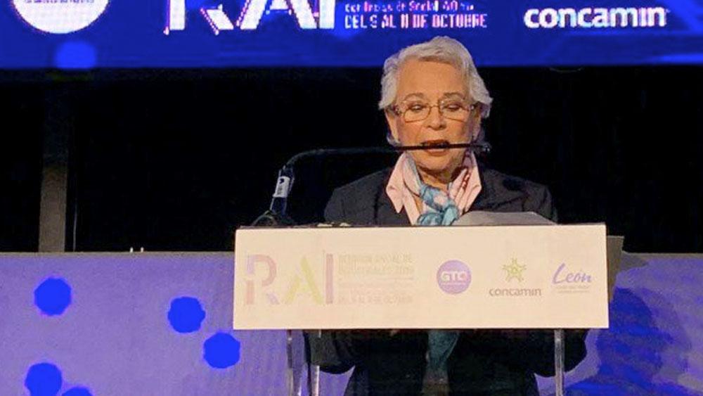 """Sánchez Cordero llama """"capa de grasa"""" a líderes sociales corruptos - Olga Sánchez Cordero"""