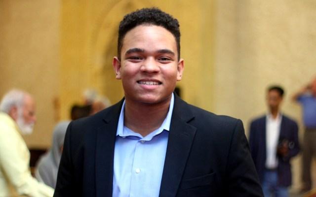 Joven sobreviviente de tiroteo quiere ser concejal de Houston, Texas - Marcel McClinton