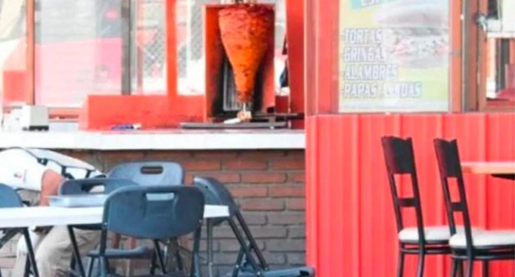 Asesinan a cuatro en taquería de Chihuahua; uno traía placa de MP - Taquería donde fueron asesinadas las cuatro personas