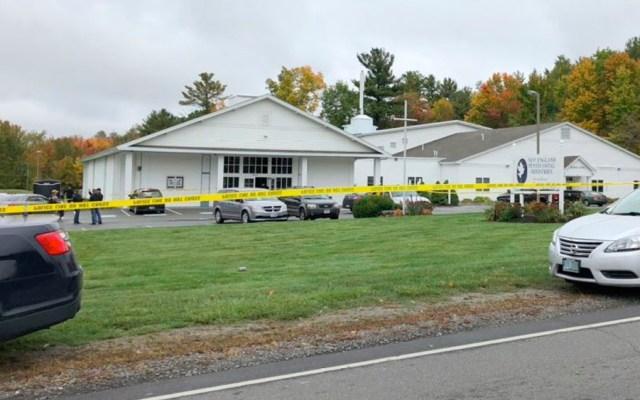 Tiroteo en iglesia de Nuevo Hampshire deja al menos cuatro heridos - Tiroteo en iglesia de Nuevo Hampshire deja al menos cuatro heridos