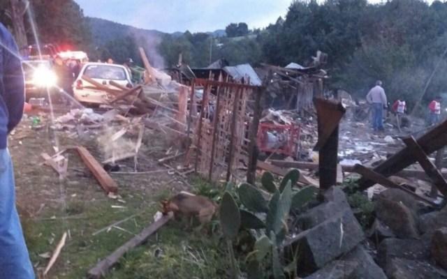 Tres muertos por explosión de taller de pirotecnia en Michoacán - Foto de @Rockturnomex