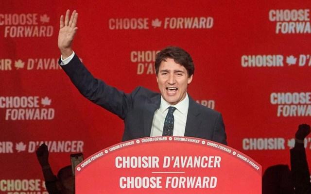 SRE felicita a Trudeau tras reelección en Canadá - Justin Trudeau