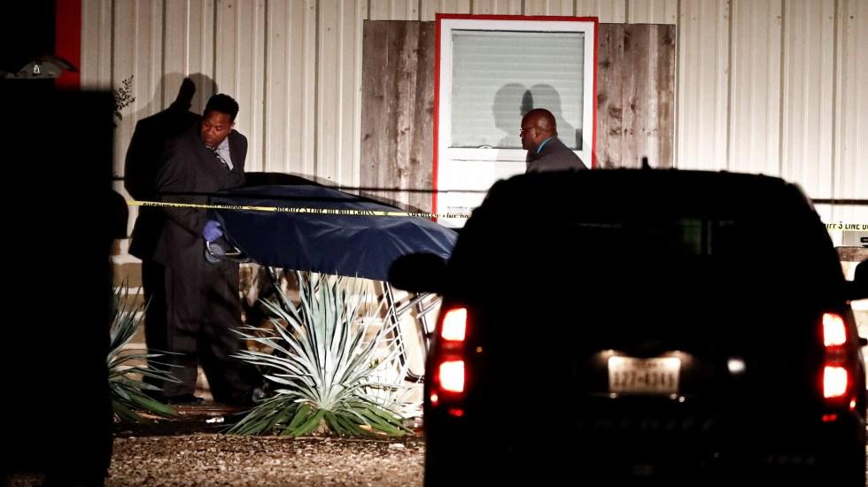 Tiroteo en fiesta de Texas deja dos muertos y 14 heridos - Víctima mortal de tiroteo en fiesta de Texas. Foto de EFE