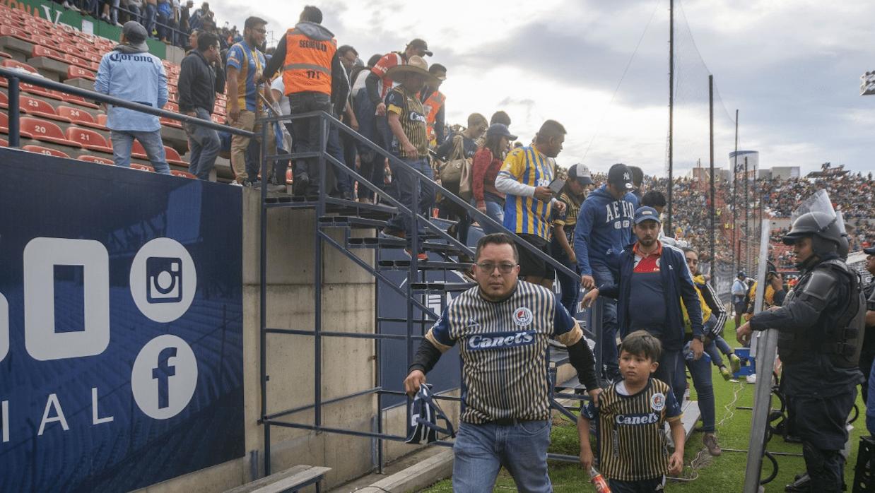 Violencia mancha el San Luis-Querétaro