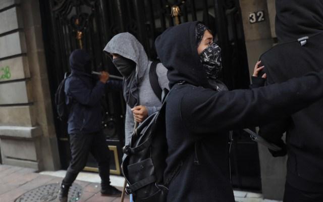 Autoridades identifican a agresores durante la marcha del 2 de octubre - Foto de EFE/Sáshenka Gutiérrez