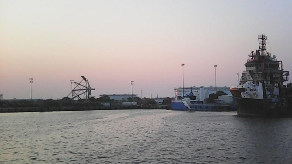 Un muerto y dos lesionados por explosión en la Terminal Marítima de Dos Bocas, Tabasco - Foto de YAIR MARTINEX-Google Maps