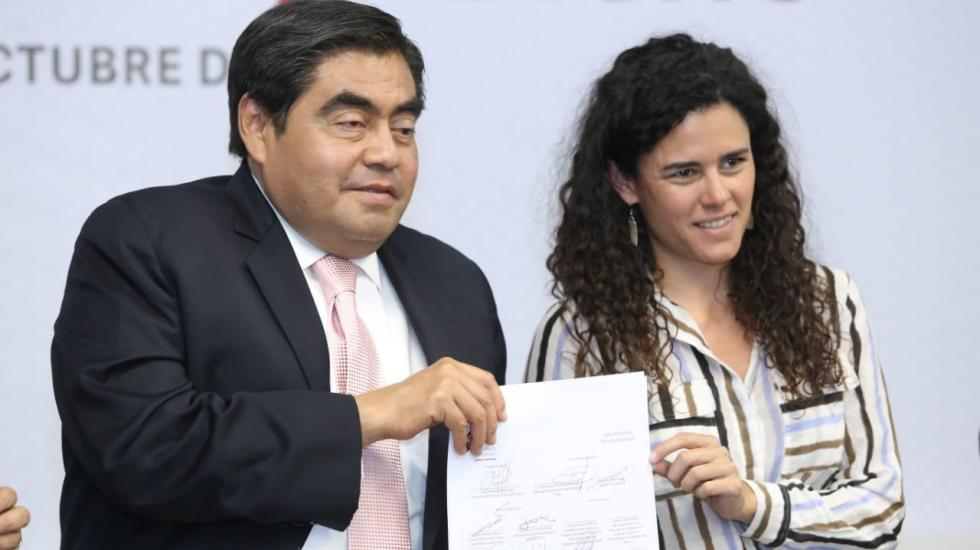 Justicia social, prioridad del gobierno de Miguel Barbosa en Puebla