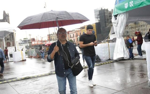 Prevén fuertes lluvias para el Valle de México - Foto: Notimex (Archivo)