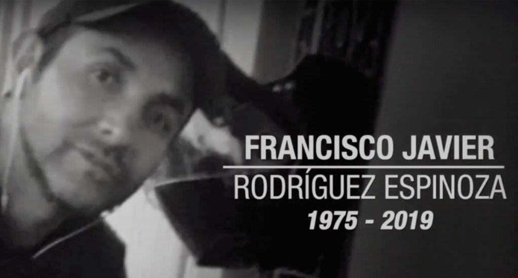 """Murió Francisco Javier Rodríguez Espinosa """"Woody"""", camarógrafo de Noticieros Televisa. Noticias en tiempo real"""