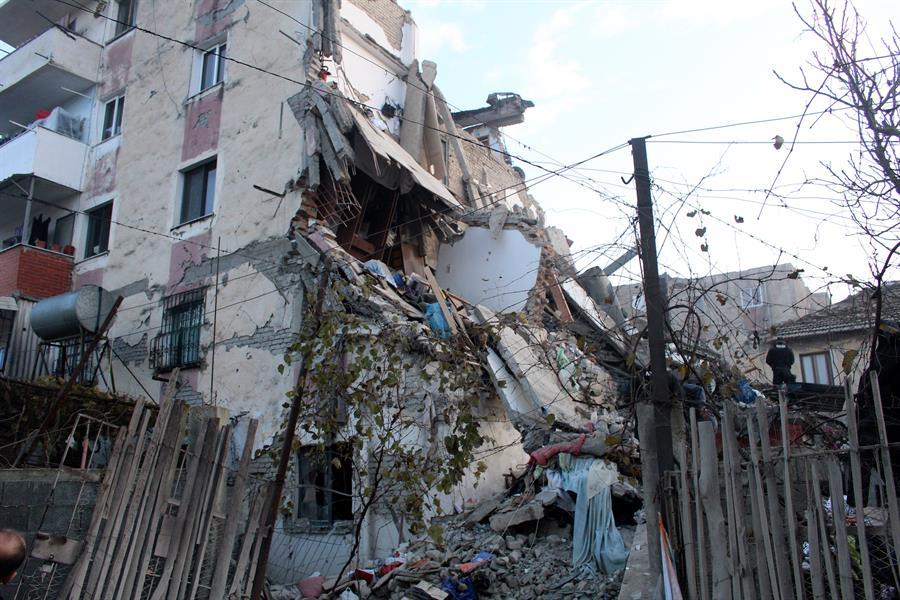 sismo Albania