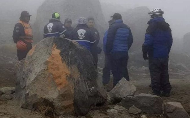 Se accidentan cinco alpinistas en Pico de Orizaba - Foto de Quadratín