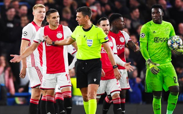 Ajax resiste y se lleva el empate en su visita al Chelsea - Ajax. Foto de EFE