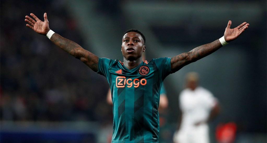 Ajax con un pie en octavos de la Champions tras vencer al Lille - Ajax con un pie en los octavos de la Champions