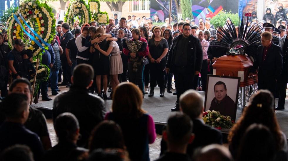 Sepultan en Juchitepec a Francisco Tenorio, alcalde de Valle de Chalco - alcalde Valle de Chalco, Francisco Tenorio Contreras